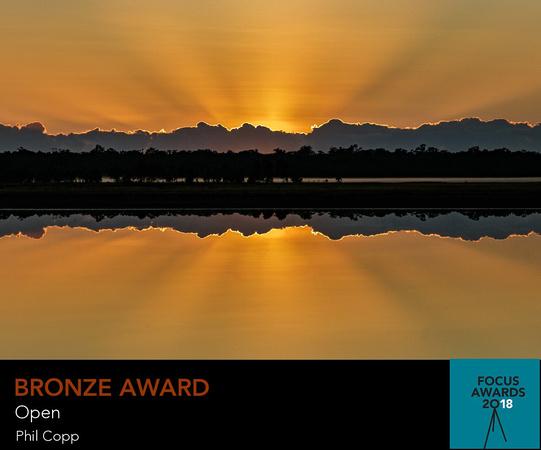 Focus Awards 2018 - Open - Salt Flats sunrise - Bronze