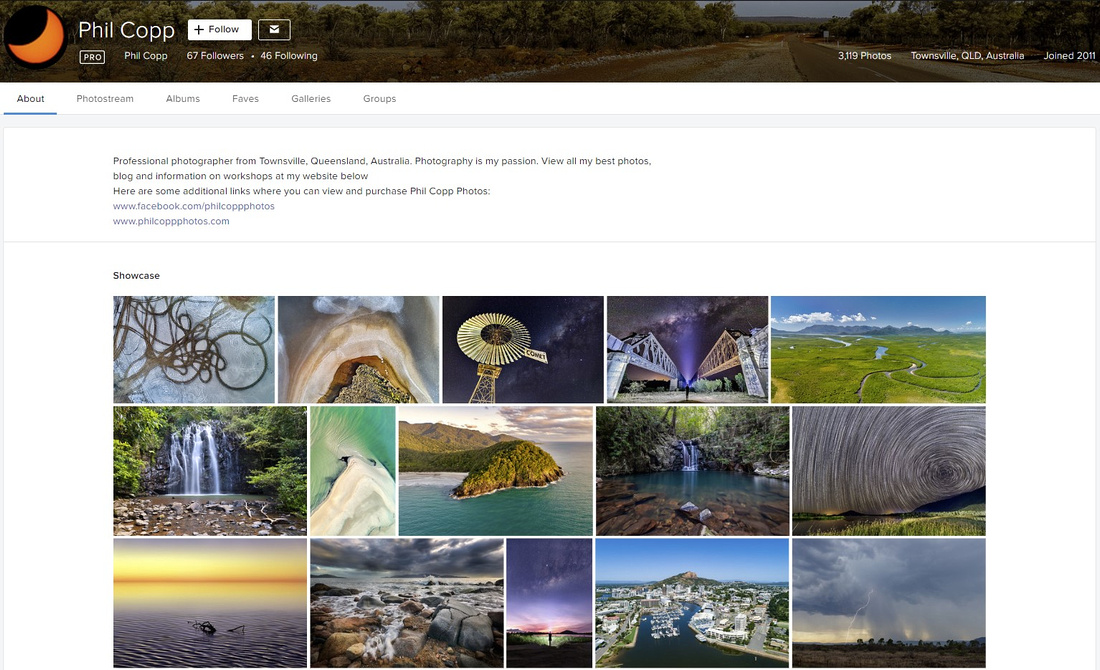 flickr profile